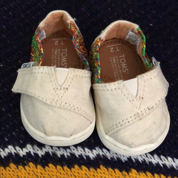 Toms Shoes | Baby Size 2 | Poshmark